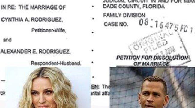 Madonna pasijának neje beadta a válópert
