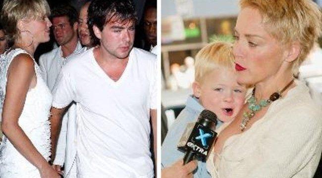 Sharon Stone-tól elvették a fiát