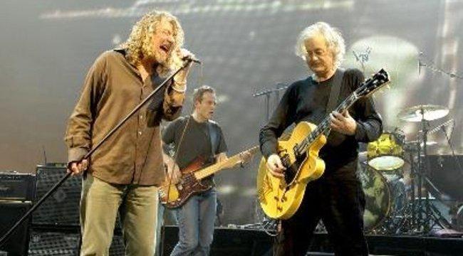 Plant beadta a derekát: lesz Zeppelin turné