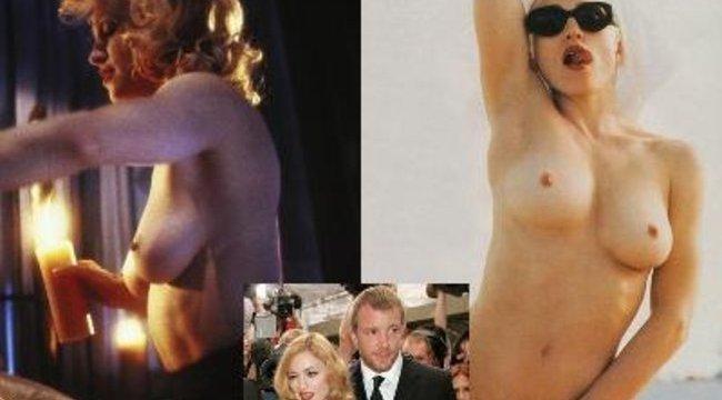 Madonna szex helyett leégette férjét a nászéjszakán
