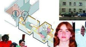 Mosdóban, egy ollóval szült az amstetteni rém lánya
