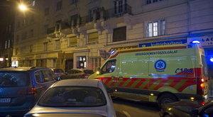 Lakástűzben meghalt egy idős nő a fővárosban