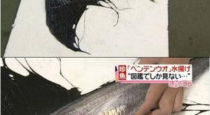 Szárnyas szörny akadt a halász hálójába