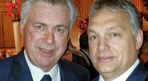 Na, kivel szelfizett Orbán az aranylabdagálán?