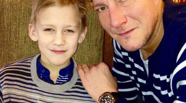Elhunyt nagyapja látogatta meg Németh Kristóf fiát