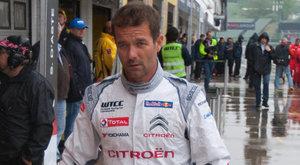 Hungaroring: rommá törte a kocsiját Loeb - fotó