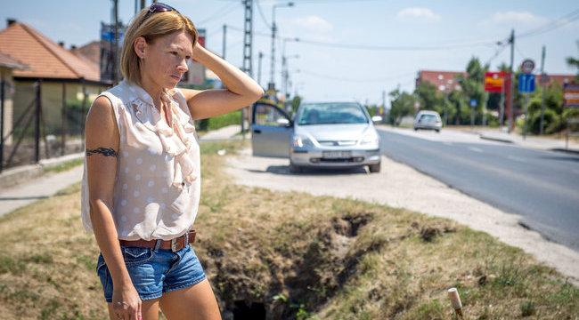 Erika: Csikorogva jött felém a fékhibás rendőrautó