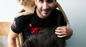 Kiss Norbertnek szívügye a macskamentés