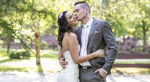 Élőben közvetítették Pordán Petra esküvőjét