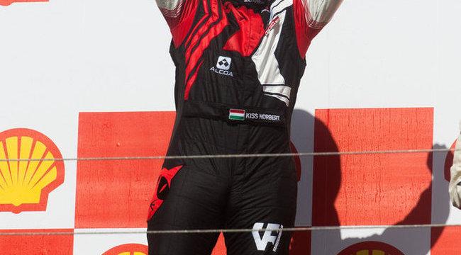 Kamion-eb: Kiss Norbi megborzongott a sikertől