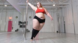 Itt a bizonyíték: 117 kilósan is lehet sztriptíztáncos