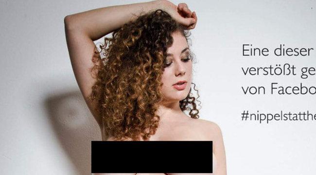 Elképesztő cicijeivel tiltakozik a szexi modell – kitakaratlan képek! +18