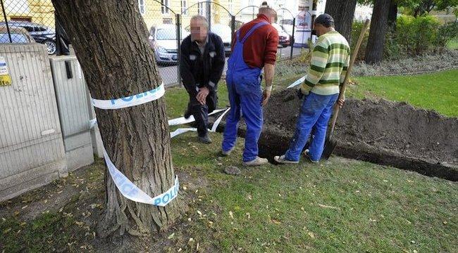Titkozatos emberi csontok kerültek elő Budapesten – fotóval