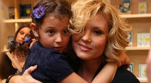 Cuki fotót posztolt kislányával Liptai Claudia