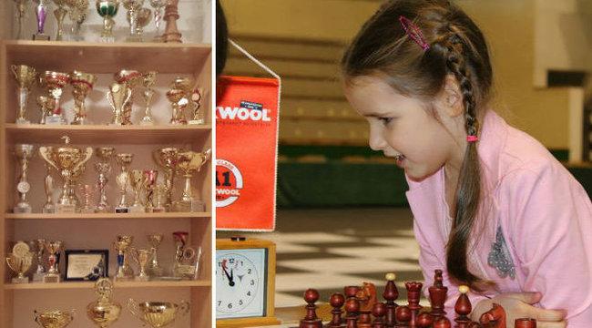 Hétköznapi kislány Zsóka, a nyolcéves világbajnok