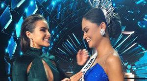 Hatalmas baki a Miss Universe döntőjén