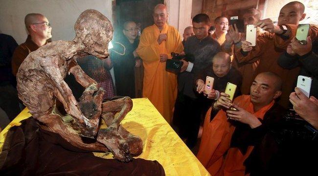 Szent lett a mumifikálódott szerzetes