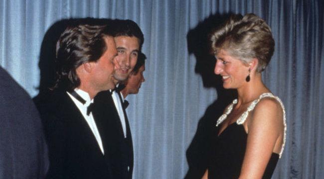 Hollywoodi sztár házába menekült Diana hercegnő