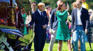 Amíg a királynő spórol, Katalin szórja a pénzt