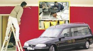 Szobafestőknek kínálják fel a halottaskocsikat