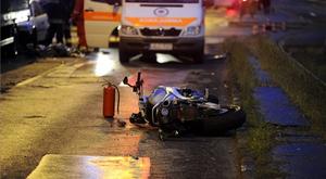 Szörnyű balesetben halt meg egy motoros Budapesten