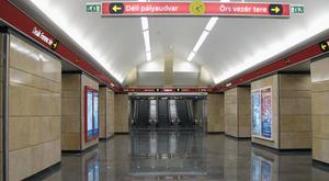Ki kellett üríteni a Deák téri metróállomást