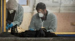 Divattervezője vana 300 éves múmiának