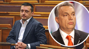 Orbán erről nem beszél Rogánnal