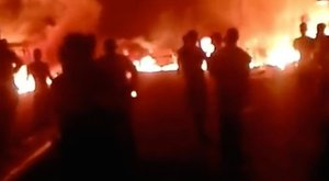 Bevásárlóutcában és piacon robbantottak – rengeteg halott