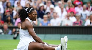 Serena Williams perrel fenyegette Wimbledont