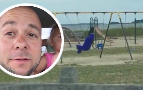 Mi hozta rá a frászt a családra a játszótéren? videó
