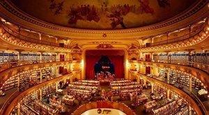 100 éves színházat változtattak át könyvesbolttá – képek