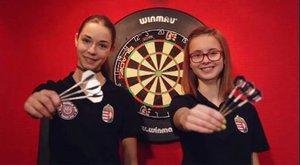 Magyar dartsosok Európa hercegnői