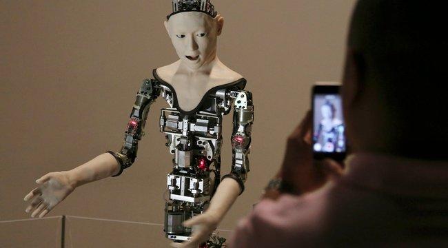 Ez a robot aztán igazán félelmetes!