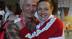 Katinka nagypapája: Együtt tempóztam az unokámmal!