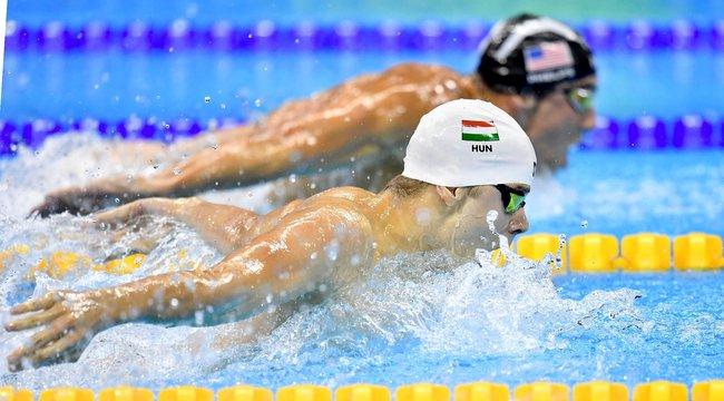 Kenderesi edzője: Álom, hogy megveri Phelps-et és Cseh Lacit