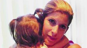 Titokzatos betegség kínozza Béres Alexandra kislányát