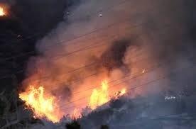 Tűzvész pusztít Kaliforniában