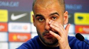 Guardiola a Barca ellen