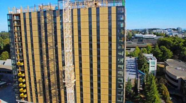 Hihetetlen!80 méteres épület építenek – fából!