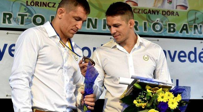 Lőrincz Viktort bronzérmesként ünnepelték Cegléden