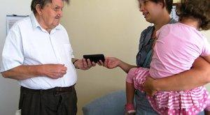 Összedobták segítői Notesz Laci nyugdíját