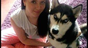 Öngyilkosságtól mentette meg a lányt a huskyja