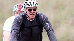 2 milliós bringával járja Budapestet Harrison Ford