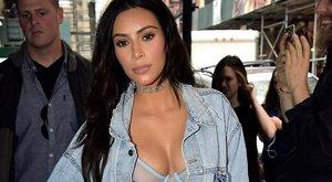 Teljesen pucér Kim Kardashian ezeken a pikáns képeken