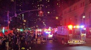Robbanás volt New York belvárosában, legalább kéttucatnyian megsérültek