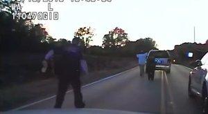 Négygyerekes édesapát lőttek agyon a rendőrök – videó (18+)