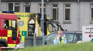 Kigyulladt a mentőautó, meghalt a beteg