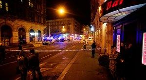 Teréz körúti robbanás: még sokáig lezárva maradhat a környék – képek