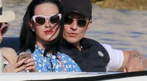 Irtó cuki Katy Perry és Orlando Bloom